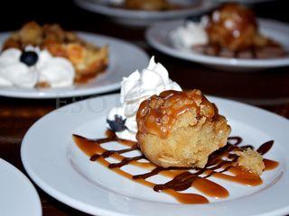 Dessert puff
