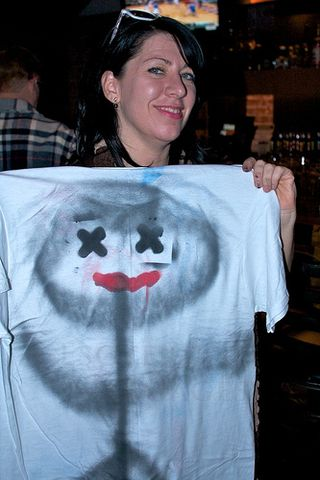 Spray Painted Shirt