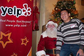 Santa yelper 1