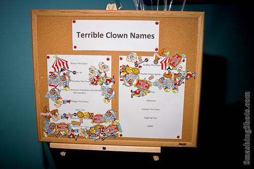 Clownnames