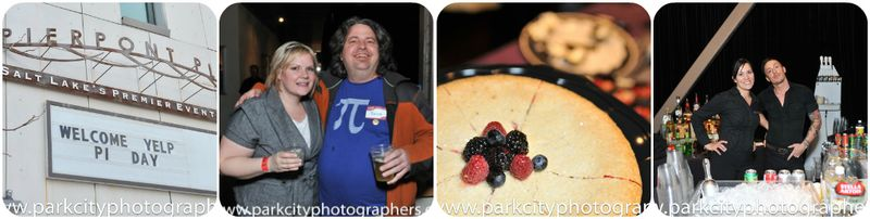 Salt Lake City Pi Party Collage1