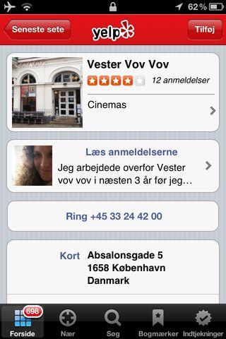 Yelp Denmark