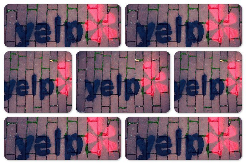 Zoek en vind het Yelp logo!