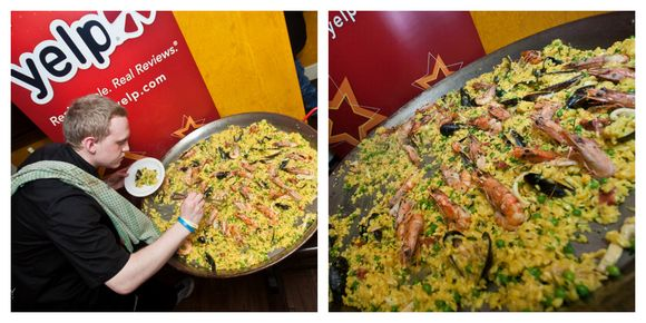 Sandis Collage paella