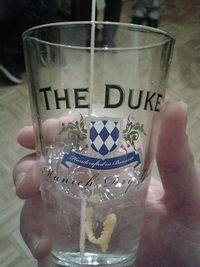 The Duke Gin Tour Glas