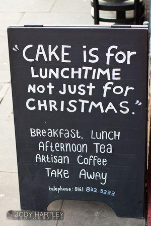 Cakeforlunchtime