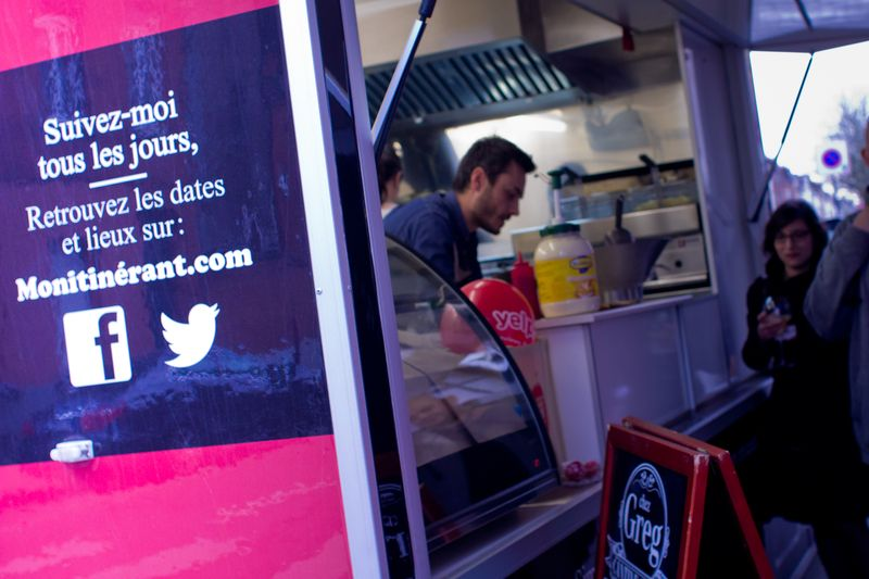 Chez Greg pose son Food Truck @La Boulangerie Bar © Alice GONSOLIN -24