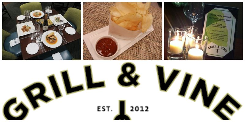 Grill & Vine collage