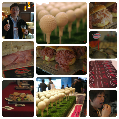 Golf lounge collage 3