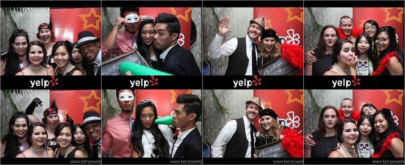 Photobooth collage 20s