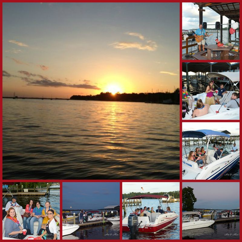 Rock the dock collage 3