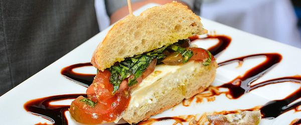 Sandwich at Pelagia Trattoria
