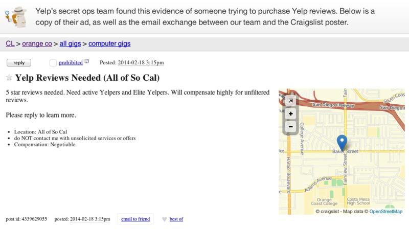 Yelp Consumer Alert 3