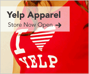 Yelp apparel store, now open.